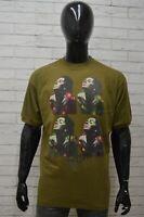Maglia BESTSELLERS Uomo Taglia Size XXL Maglietta Shirt Man Cotone Manica Corta