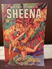 1951 Sheena Queen of the Jungle #13 Fiction house
