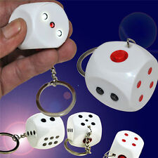 2017 Mini Electric Shocking Dice Keychain Spoof Toy Joke Trick Prank Toy Gift HU