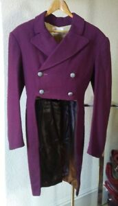 Regency Men's Tailcoat, Vest, Trousers, Probably Antique Set, Early-Mid 1900s?