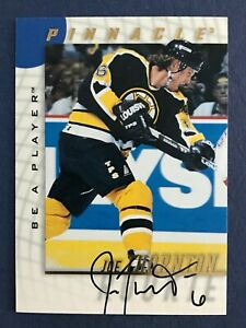 JOE THORNTON AUTO 1997-98 BE A PLAYER AUTOGRAPHS 97-98 NO 232  36848