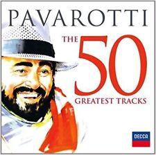 Pavarotti: The 50 Greatest Tracks by Luciano Pavarotti (CD, 2013, Decca)