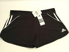 """Adidas Black White Athletic """"Short Tight"""" Shorts Women's Size Large"""