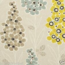 CLARKE and CLARKE (STUDIO G) CURTAIN FABRIC/CRAFT MUSTIQUE Chartreuse SALE