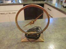 Vintage Mystery Electric Jefferson Golden Hour 355H Desk Art Deco Clock USA