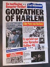 GODFATHER OF HARLEM - Filmplakat A1 - Fred Williamson