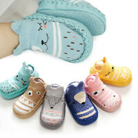 Cartoon Animal Baby Girl Boy Newborn Toddler Infant Soft Socks Booties Shoes 2Pc