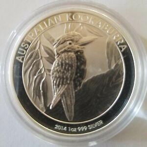 2014 KOOKABURRA SILVER COIN
