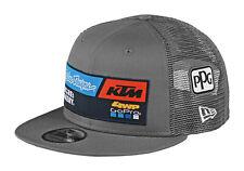 TLD KTM Team Gray Flat Brim Snapback Hat
