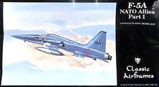 Classic Airframes 1:48 F-5A NATO Allies Part I Plastic Aircraft Model Kit #486