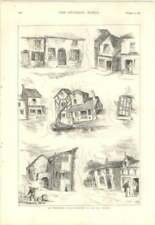 1879 Sketches In The Salt District, Undermining Of Foundations