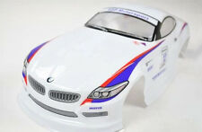 "RC Voiture Carrosserie 1:10 ""voiture de sport sport automobile"" en blanc 190 mm Large # hx042w"