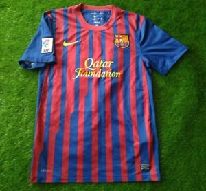 FC BARCELONA SPAIN #10 MESSI 2011/2012 HOME FOOTBALL SHIRT JERSEY NIKE ORIGINAL