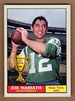 Joe Namath '65 New York Jets Monarch Corona Rookie All Star #3