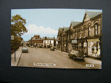 Frith Postcard of Wilmslow Road, Cheadle, Cheshire. Posted.