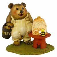 Wee Forest Folk Bear Figurine BB-11 - Honey Bear