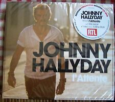 Johnny Hallyday : L'ATTENTE CD+DVD Version limitée LUXE Digipack New & Sealed.1$