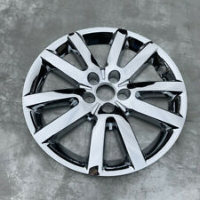 """4X Car Silver 18"""" Hubcaps For FORD EDGE Wheel Cover Hub Rim Cover Set"""