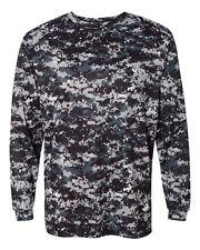 Badger Adult Digital Camo Long Sleeve T-Shirt, S-XL, 2X, 3X, 4XL, 4184