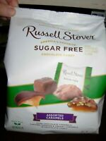 Russel Stover Sugar Free Assorted Carmels Assortment Chocolate Candy 17.6 OZ Bag