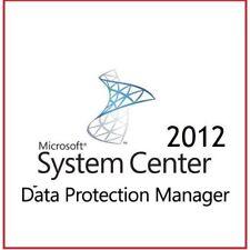Centro sistema di Windows 2012 Data Protection Manager-pacchetto più conveniente su eBay
