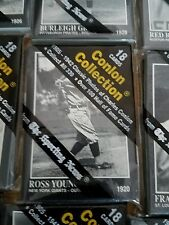 ☇ROSS YOUNG 🏛NY GIANTS ⚾SEALED 18-CARD PACK ⚾1991 CONLON PHOTO SPORTING NEWS⚾