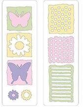 Provo Craft - Cuttlebug - Die Cut Set - 2 Die Cuts- Naturals Natur Schmetterling