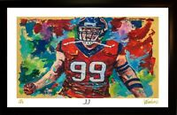 SALE JJ WATT L.E. 35/199 PREMIUM ART PRINT SIGNED BY ARTIST, WINFORD