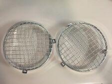 Jeep CJ Stainless Steel Wire Mesh Light Guard Set
