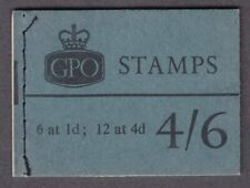 GB QEII L63  4/6 WILDING BOOKLET MARCH 1966 FINE