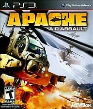 NEW SEALED-  PS3  - Apache : Air Assault Sony PlayStation 3 Game FREE SHIPPING