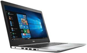 Dell Inspiron 5570 Laptop I7-8550u 8gb RAM 128GB SSD 1TB HDD I55707361SLVPUS NEW