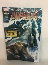 Marvel Avengers #35 (2020) (W) Jason Aaron (A) Javi Garron (CA) Matteo Scalera