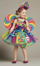 NEW Chasing Fireflies Wish Craft Girl's Candy Fairy Halloween Costume Size 12