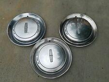 1990 90 Lincoln Town car wheel hub caps oem