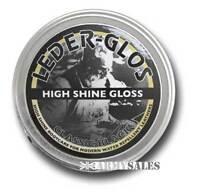 Altberg Leder Glos High Shine Gloss Military BLACK 80g Tin Boot Treatment Polish