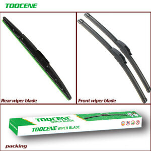Front and Rear Windshield Wiper Blades for Honda CRV CR-V 2012-2016 OEM quality