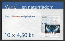 DENMARK 2001 Europa Booklet, Complete