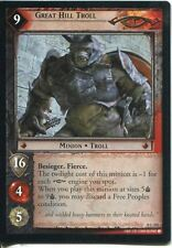 Lord Of The Rings CCG Card SoG 8.C102 Great Hill Troll