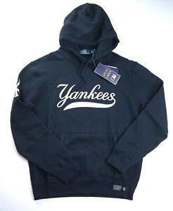 POLO RALPH LAUREN Men's MLB Collection Yankees NY Fleece Hoodie Navy sz XXL