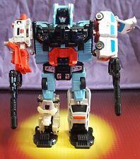 Vintage Hasbro Transformers G1 Complete Protectobot Defensor Starter Set