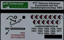 Telefoonkaart / Phonecard Nederland RDZ147 ongebruikt - Feyenoord Landskampioen