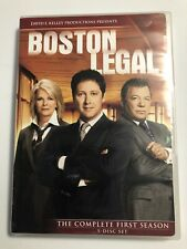 Boston Legal - Season 1 (DVD, 2009, 5-Disc Set) Used