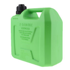 Plastic Can Gas Diesel Petrol Fuel Tank Oil Container Fuel-jugs Green 5L