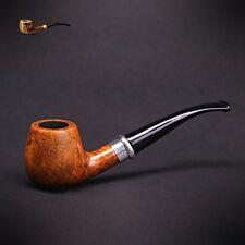 """Mr. Brog WOODEN TOBACCO SMOKING PIPE BRUYERE  no 85 """" Schmidt """"  Walnut  Briar"""