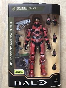 Wicked Cool Toys HALO The Spartan Collection Spartan MK Vll Figure NEW US