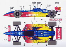 1/25Indy CART decal Superman Michigan 500/F1