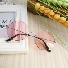 Women Retro Round Plastic Fashion Glasses Lens Sunglasses Eyewear Frame Glasses