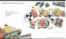 GB 2007 FDC Beatles Album Covers Minisheet Tallents Hs Edinburgh postmark stamps