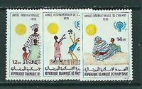 Mauretanien - Post Yvert 422/4 MNH